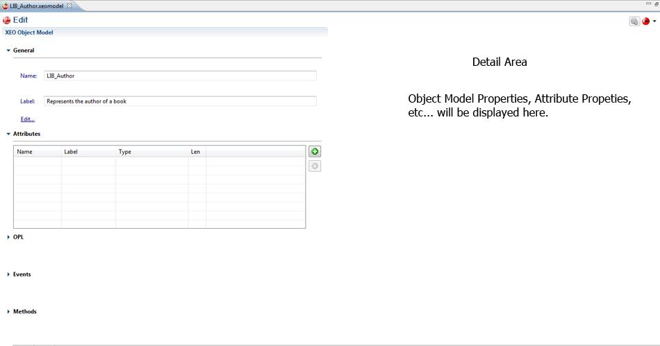 XEO Object Model Editor