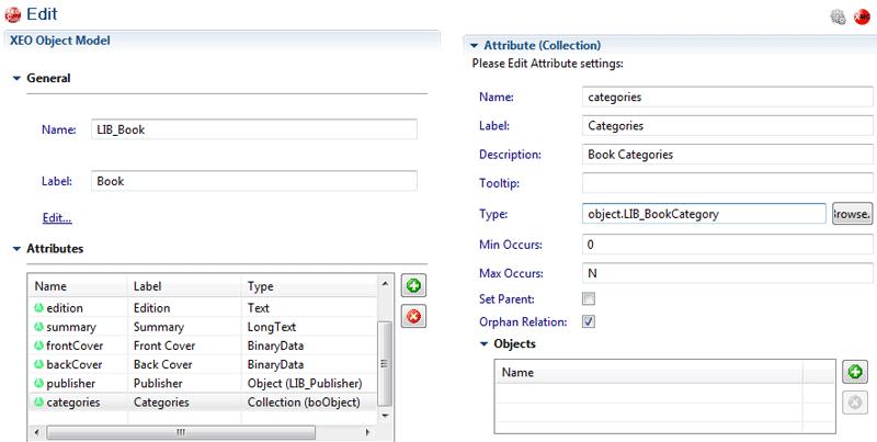 Attribute Collection for LIB_Book