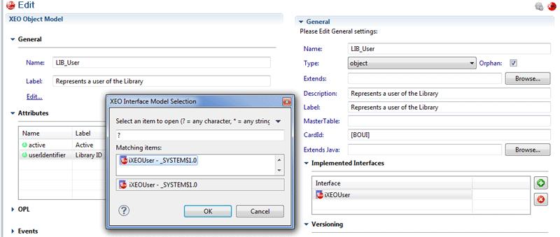 Interface Implementation XEO Studio